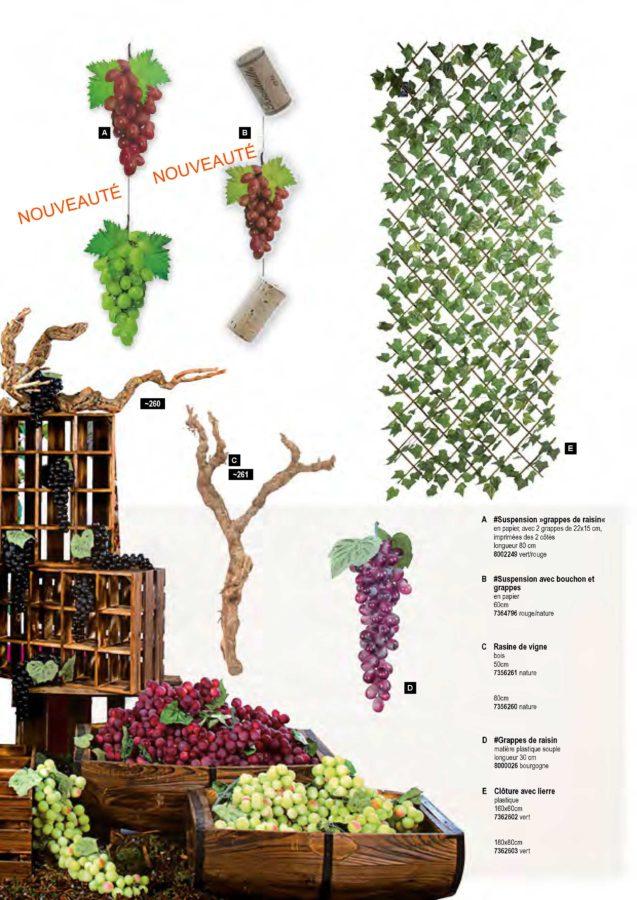 Suspensions et décor : foire aux vins