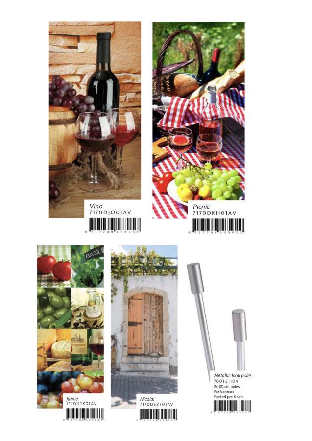 Poster tissu : foire aux vins