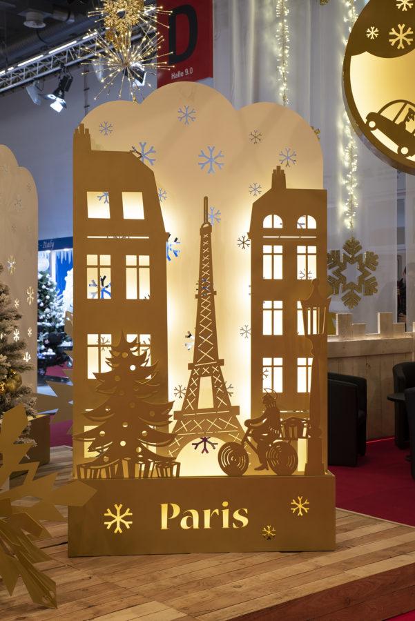 Décor Paris Métal et LED