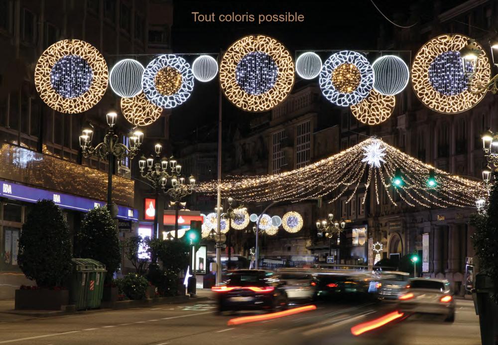 Décoration de rue LED